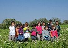 Photo des enfants de l'école