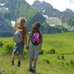 Enfants en randonnées